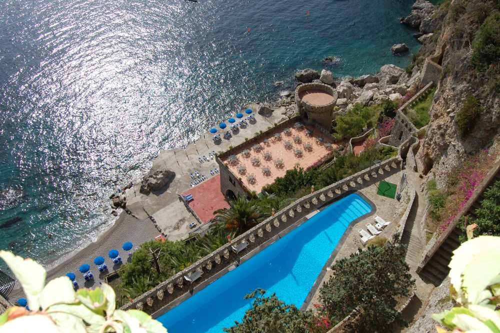 amalfi castle destination events fairytale chic