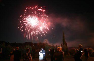 fireworks for wedding events