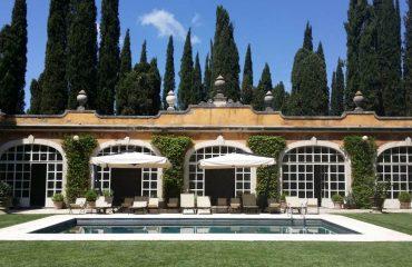 tuscan ancient limonaia party