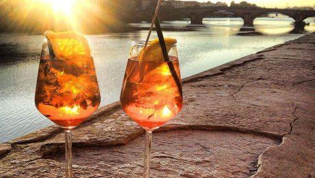 firenze arno view spritza aperol aperitivo tuscanbites