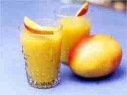 Mango and Peach fizz