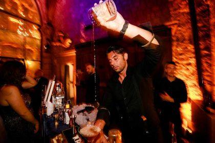 Bartender show by Monica Balli events