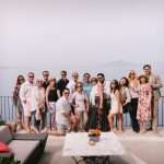 capri fam trip monca balli and friends